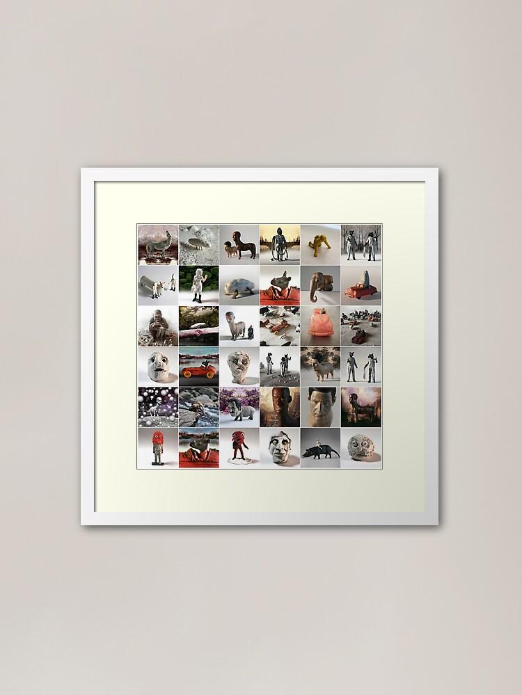 Alternate view of DATAMETAMNESIA Framed Art Print