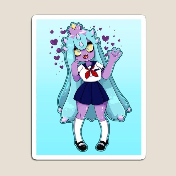Schoolgirl Mareanie wants to battle!! Magnet