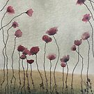 Intermediaries: Red Poppies by UnSungStudio