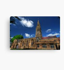 Leicester Cathedral  Canvas Print