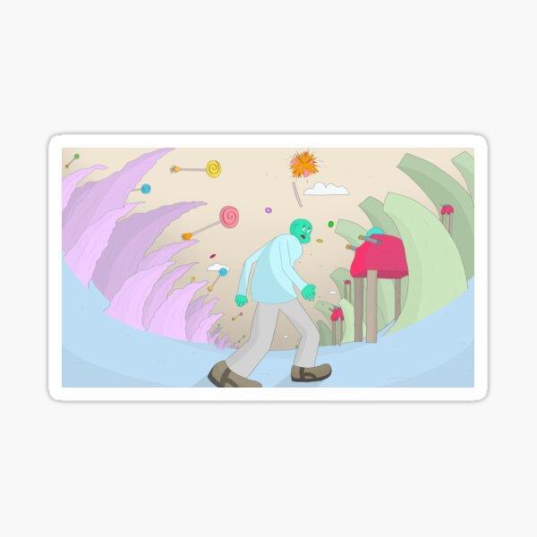 Lollipop Battle Sticker