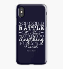 """""""You could rattle the stars..."""" Throne of Glass iPhone Case"""