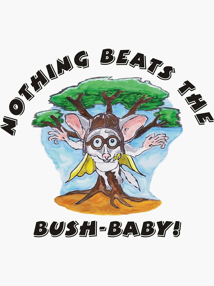 Bushbaby hero by D-Ziner