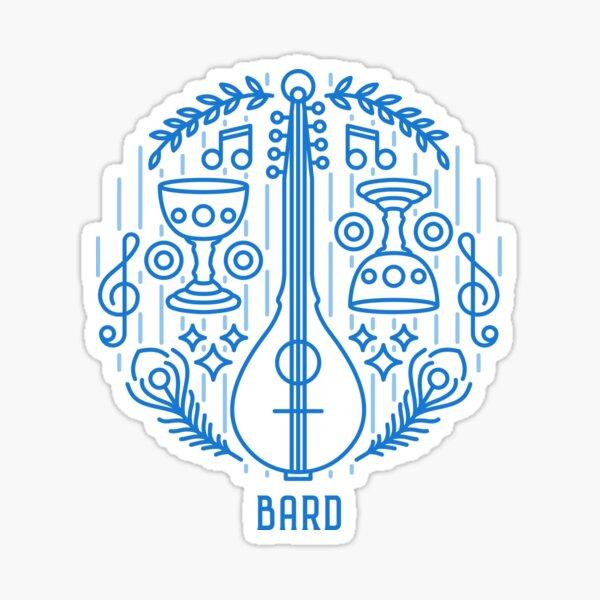 Bard - Blue Sticker