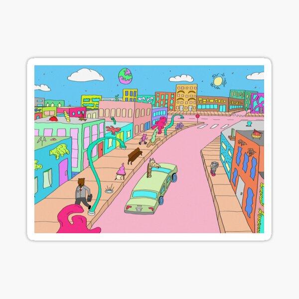 Animal Town Sticker