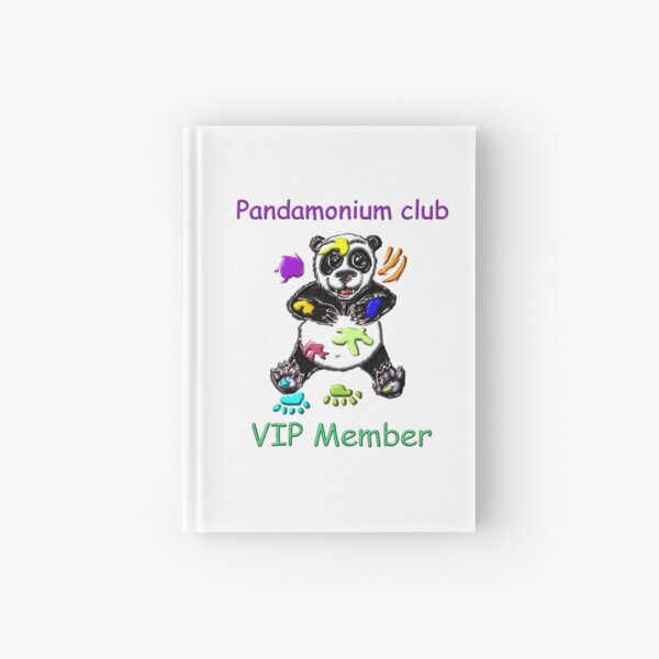 Pandamonium club Hardcover Journal