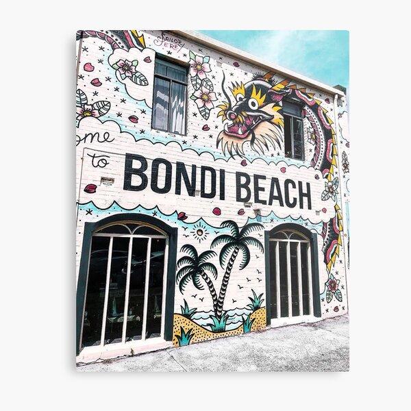 Bondi Beach in Sydney, Australia Metal Print