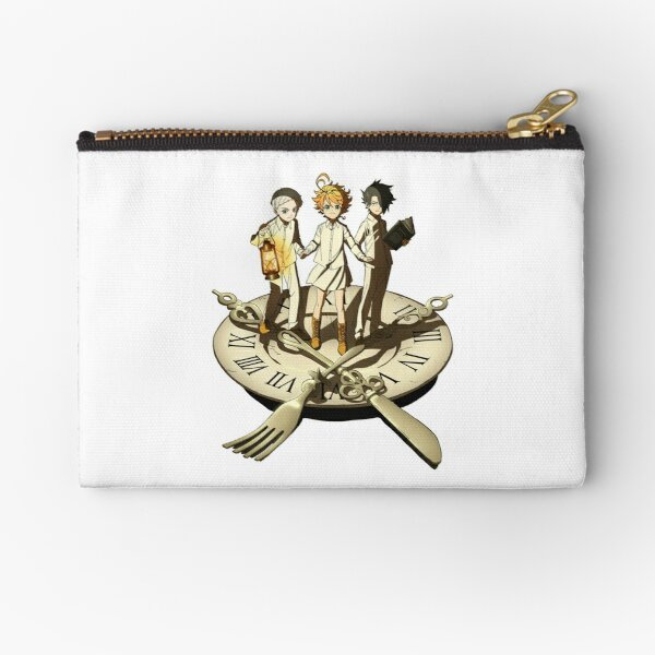 Emma, Ray & Norman Trio - The Promised Neverland Zipper Pouch