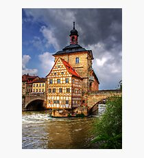 ALTES RATHAUS - BAMBERG Photographic Print