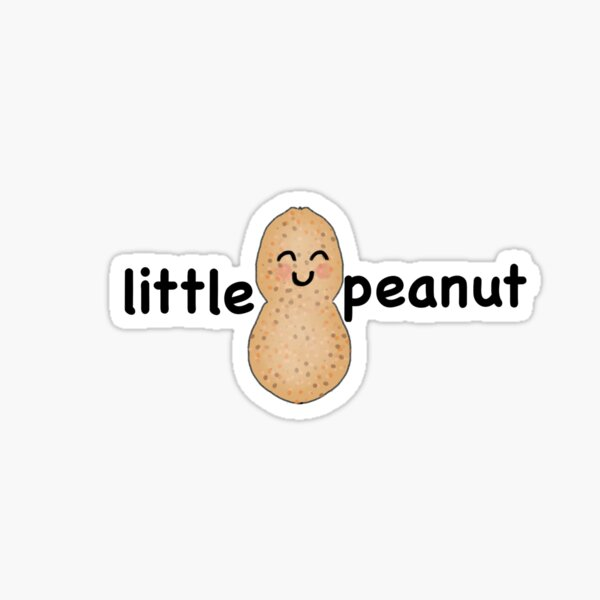 Little Peanut  Sticker