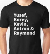 Yusef, Korey, Kevin, Antron & Raymond Slim Fit T-Shirt