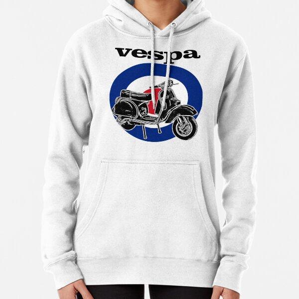Vespa Scooter Mods Target Pullover Hoodie