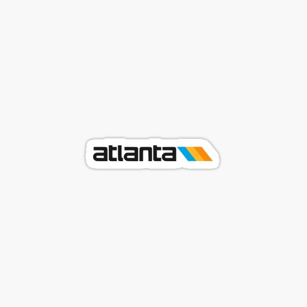 Atlanta MARTA Logo Sticker