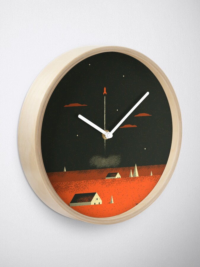 Alternate view of Bon voyage Clock