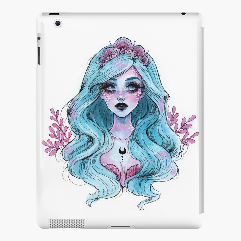 Perlglänzende Meerjungfrau iPad-Hülle & Skin
