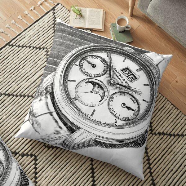 Luxury Wristwatch Floor Pillow