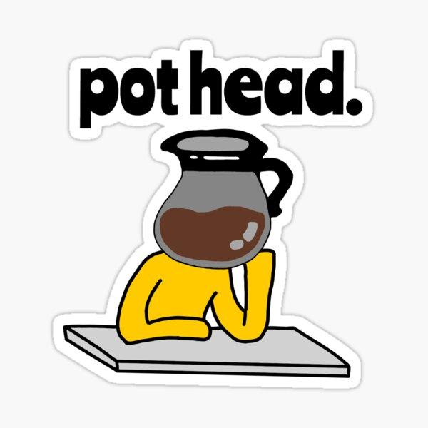 Pothead Pegatina