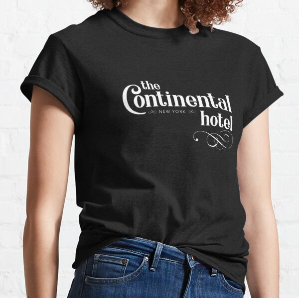 The Continental Hotel - NYC Classic T-Shirt