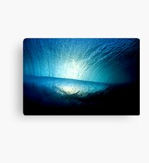 Deep Blue - Northern Beaches Canvas Print