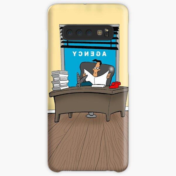 The Agency Cartoon Illustration Samsung Galaxy Snap Case
