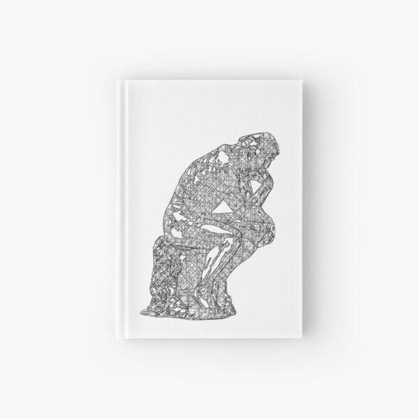 Thinker - Criss Cross Pattern Hardcover Journal