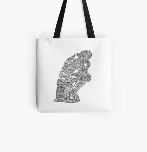 AOP Tote Bag Philly Thinker Rodin