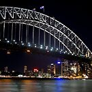 Sydney Harbour Bridge by Siddhesh Rishi