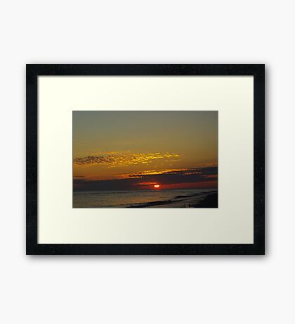 Another Day Gone Framed Print