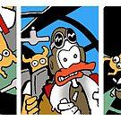 Skuttler and Doxi sky comic by bonafidethreadz