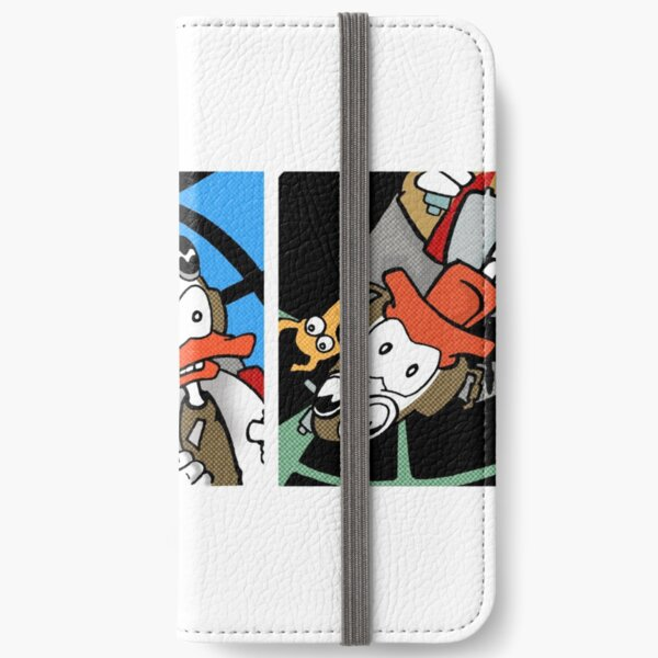 Skuttler and Doxi sky comic iPhone Wallet