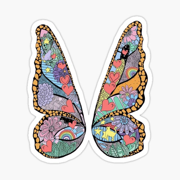 Butterfly 2 Sticker