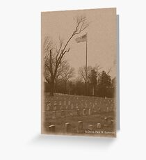 Shiloh National Military Cemetery Greeting Card