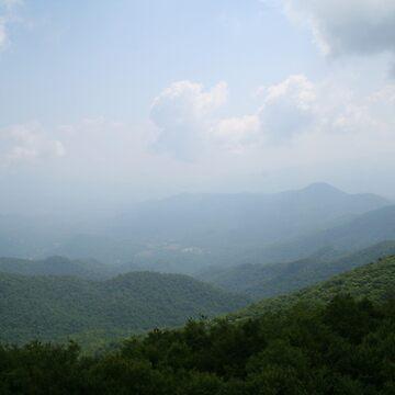 Mountains side of Labadee, Haiti. by Misawalk
