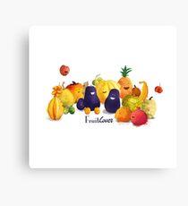 fruits tropicaux Impression sur toile