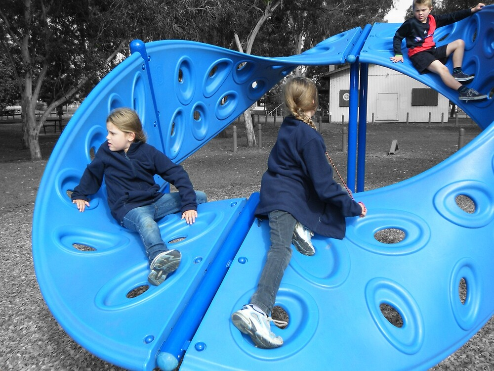 Blue Girls ~ Apex Park by wyvernsrose