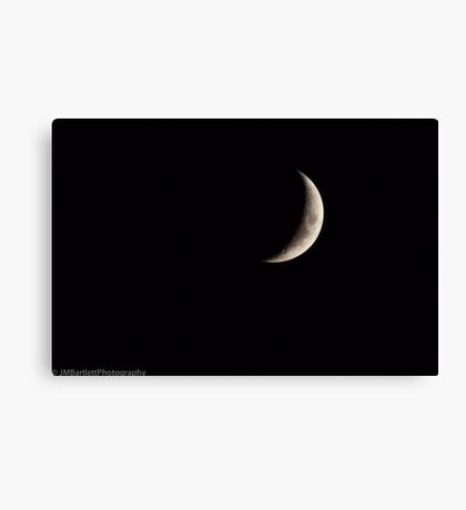 Crescent Slice Canvas Print