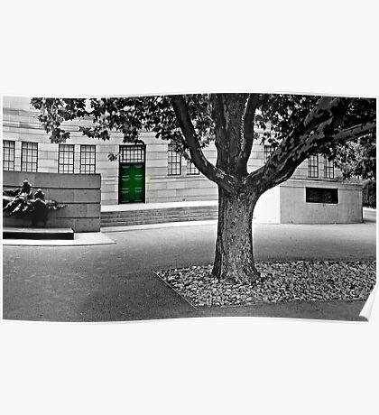 Behind The Green Door! Poster