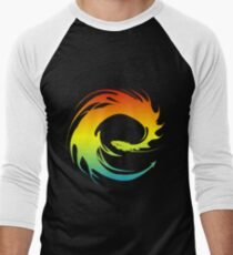 Colorful Eragon Men's Baseball ¾ T-Shirt