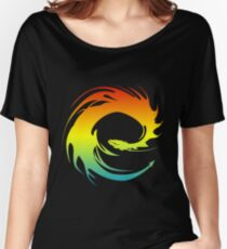 Colorful Eragon Women's Relaxed Fit T-Shirt