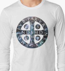 Saint Benedict Medal Long Sleeve T-Shirt