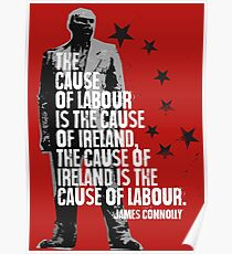 James Connolly Poster
