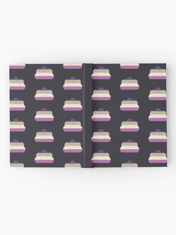 Alternate view of Asexual Cloud Hardcover Journal