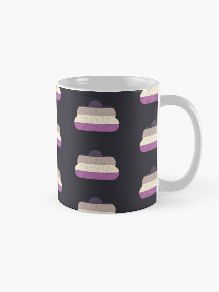 Alternate view of Asexual Cloud Mug