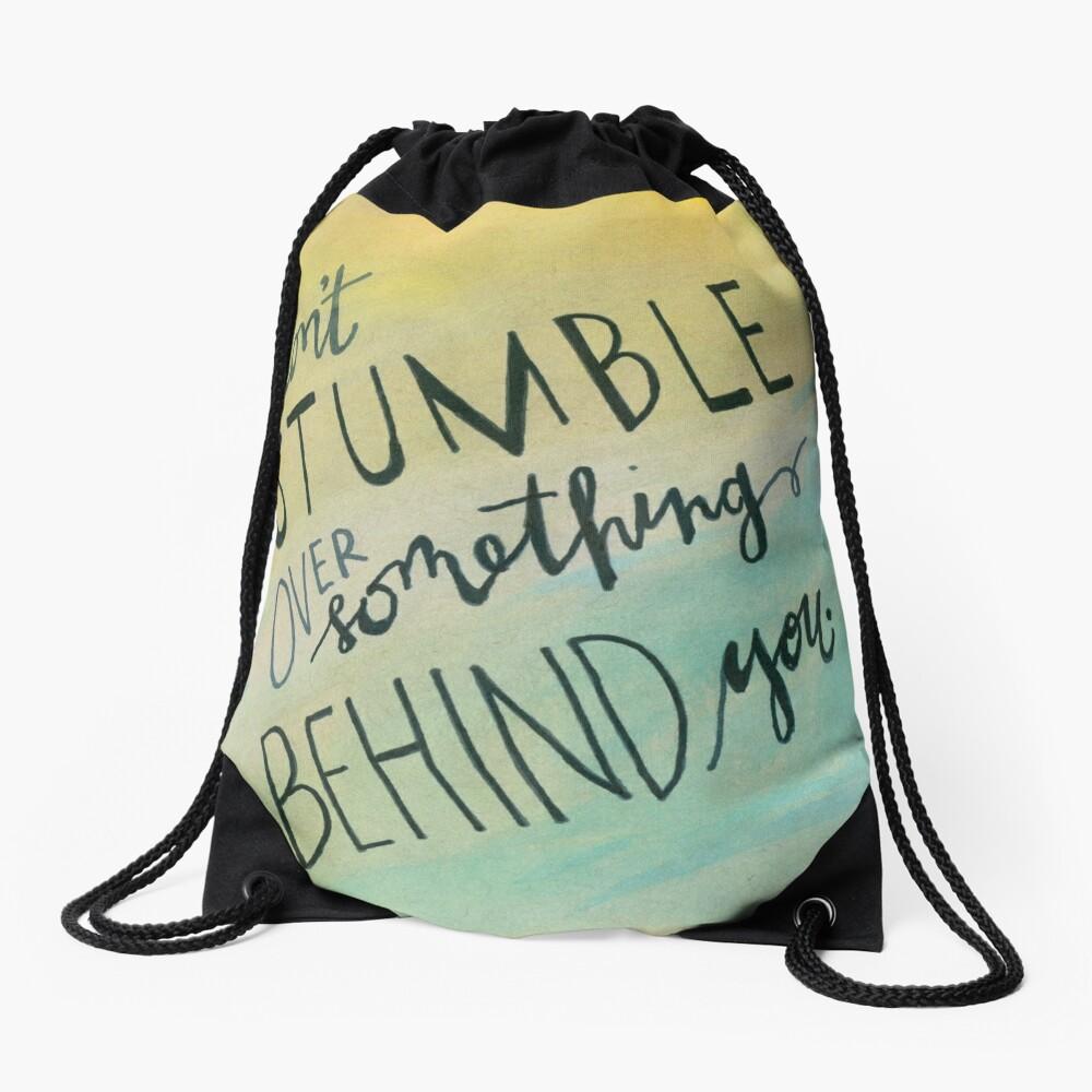 Don't Stumble Drawstring Bag
