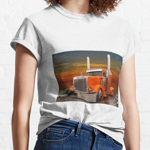Orange Peterbilt Classic T-Shirt