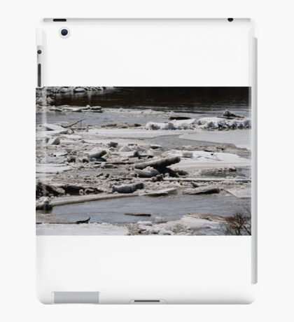 Ice Jams on the Red iPad Case/Skin