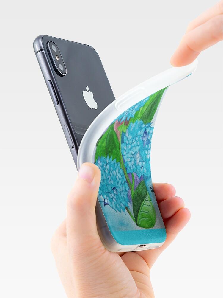 Alternative Ansicht von Blumen-Aquarell iPhone Fall iPhone-Hüllen & Cover
