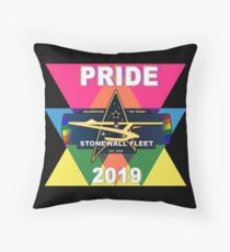 Pride 2019 SWF logo Throw Pillow