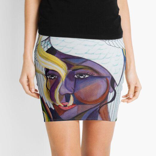 Swan  Mini Skirt