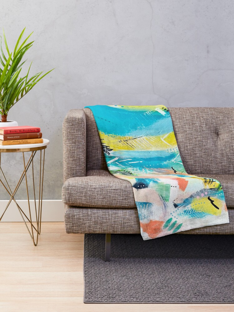Alternate view of Cool Summer Throw Blanket